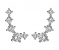 PAVOI Hearts & Arrows Diamond Ear Crawler