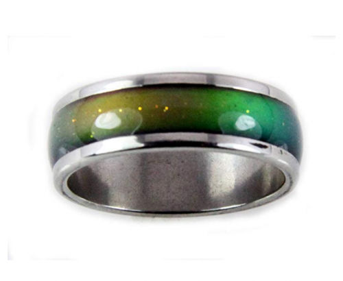 Mood Rings Stainless Steel Band