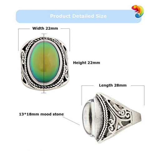 MOJO JEWELRY Mood Ring Details