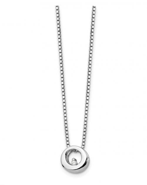The Black Bow Company Diamond Accent Necklace