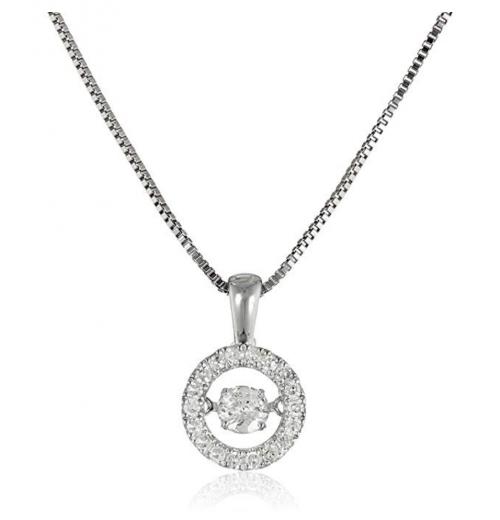 Amazon Collection Dancing Diamond Necklace