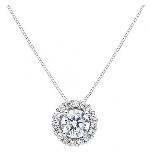Everyday Elegance Floating Diamond Necklace