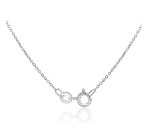 Beaux Bijoux Sterling Silver Tricolor Star Necklace Clasp