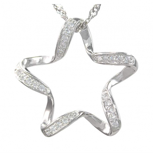 Pearl of Dream Lucky Star Sterling Silver Necklace