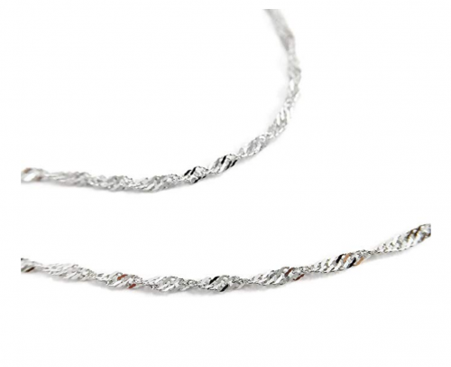 Pearl of Dream Lucky Star Sterling Silver Necklace Chain