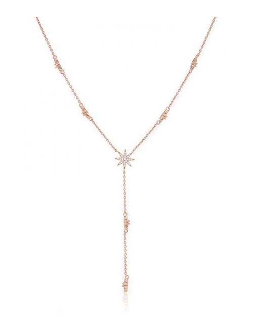 Espere Star Drop Lariat Necklace