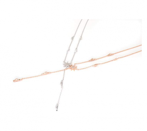 Espere Star Drop Lariat Necklace Colors