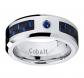 Metal Masters Co. Cobalt Men's Sapphire Ring