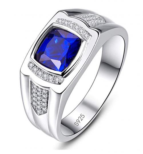 BONLAVIE Created Sapphire Ring