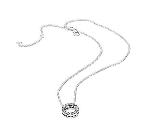 Pandora Jewelry - Hearts Of Pandora Necklace on Display
