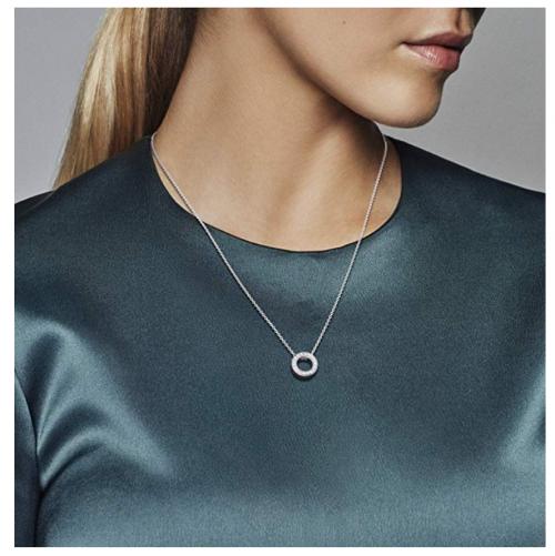 Pandora Jewelry - Hearts Of Pandora Necklace on Model