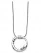 The Black Bow Jewelry Co. Diamond Circle Necklace