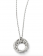 The Black Bow Jewelry Co. Beaded Circle Necklace