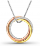 Jeulia Be Together Loops Necklace