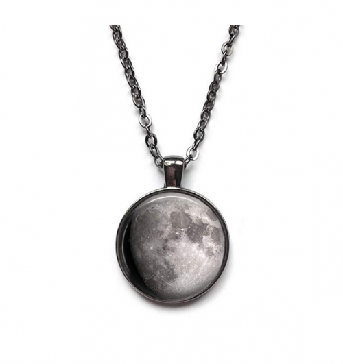 Your Custom Birth Moon Necklace by Little Gem Girl