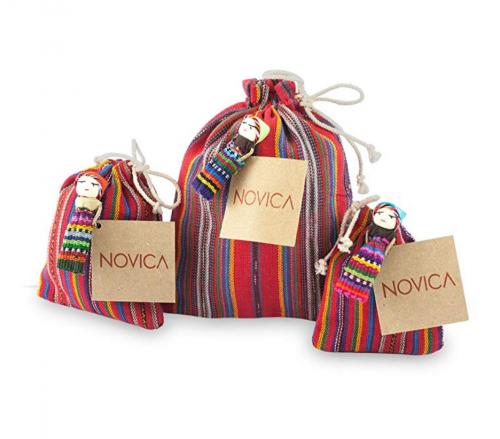 NOVICA Pouches