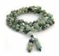 OVALBUY Hand Knotted 108 Jadeite Beads