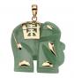 Lux Good Fortune Elephant Pendant