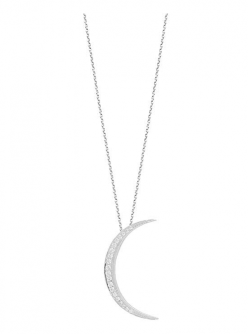 Sterling Forever Moon Phase Necklace