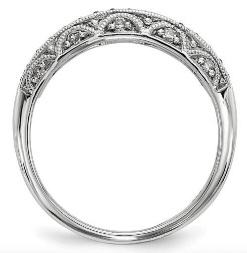 Black Bow Jewelry & Co. Black Diamond Ring Profile