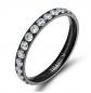TIGRADE Titanium Black Ring