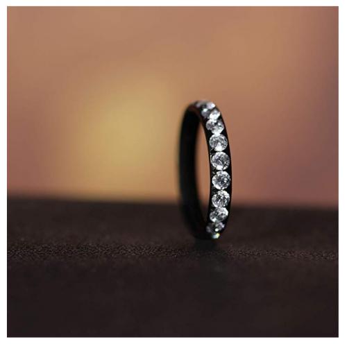 TIGRADE Titanium Black Ring on Display