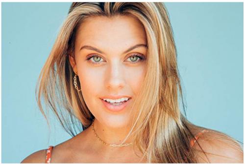 Benevolence LA Gold Choker Necklace on Model