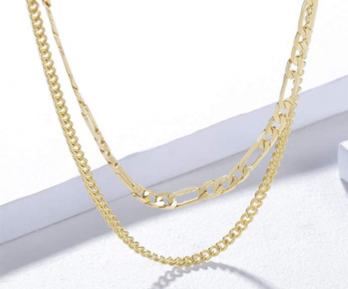SEAYII 14K Gold Dainty Chain Detail