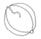 Carolyn Pollack Sterling Silver Chain Double Strand Choker