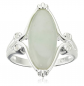 Morgan & Paige .925 Sterling Silver Jade Ring