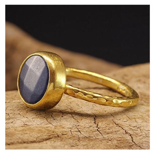 Natural Blue Jade Ring by Caprixus Profile