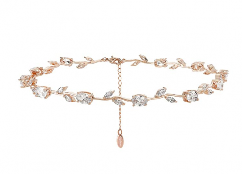 Nikita By Niki Rose Flower Choker Necklace