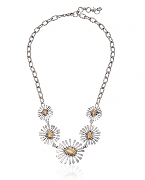 Lucky Brand Floral Collar Necklace