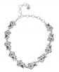 Betsey Johnson Crystal Flower Necklace