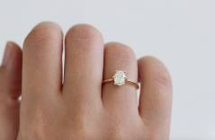 Oval Engagement Rings in All Price Ranges