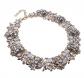 Jerollin Crystal Rhinestone Collar Necklace