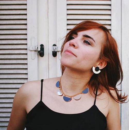 IGEMA Bib Collar Necklace on Model