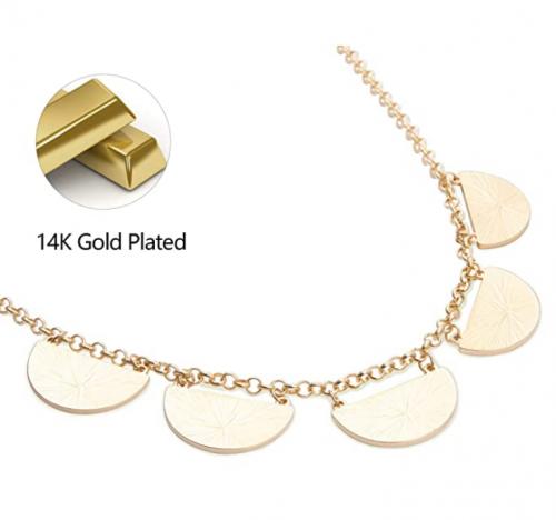 IGEMA Bib Collar Necklace Detil