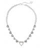 GUESS Hearts Link Necklace