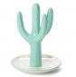 Tri-Coastal Ceramic Cactus Jewelry Ring Holder
