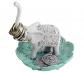 Evelots Ring Holder - Good Luck Elephant ewelry Bowl