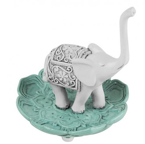 Evelots Ring Holder - Good Luck Elephant ewelry Bowl 2