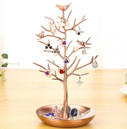 WELL-STRONG Tower Tree  Ring Holder on Display