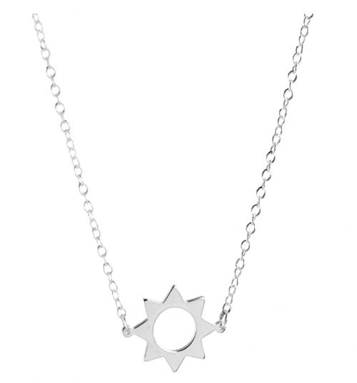 Deidreamers 925 Sterling Silver Sun Necklace