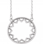 Black Bow Jewelry & Co. Sterling Silver Sun Necklace