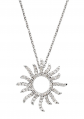Black Bow Jewelry & Co. Diamond Sun Necklace