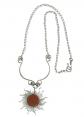NOVICA Sunstone Necklace