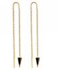 Benevolence LA Dagger Threader Earrings