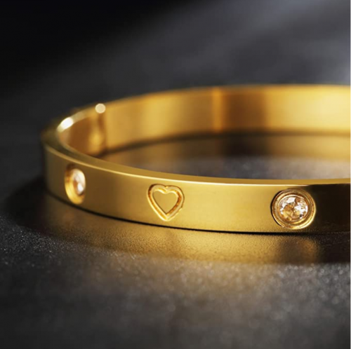 How to open an close love bracelet