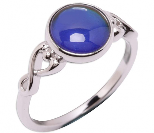 Precious Pieces Sterling Silver Mood Ring